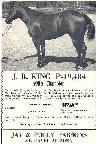 J B King